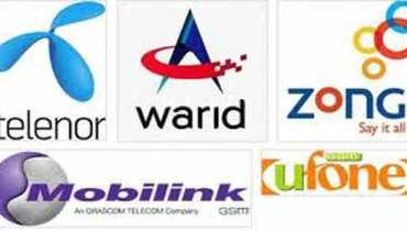 ufone, zong, warid, telenor logos
