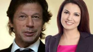 Imran Khan with Reham