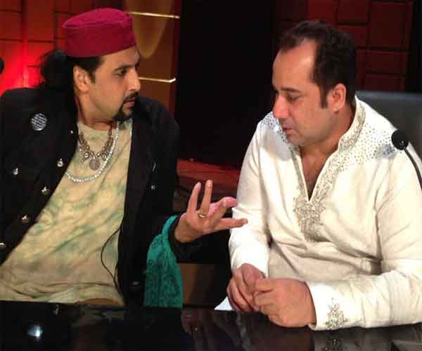 salman ahmed and Rahat Fateh ali khan