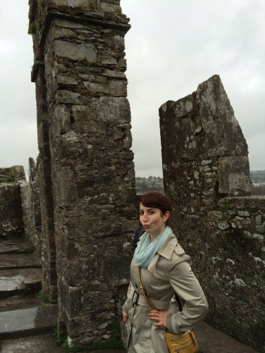 One last kiss for the Blarney Stone.