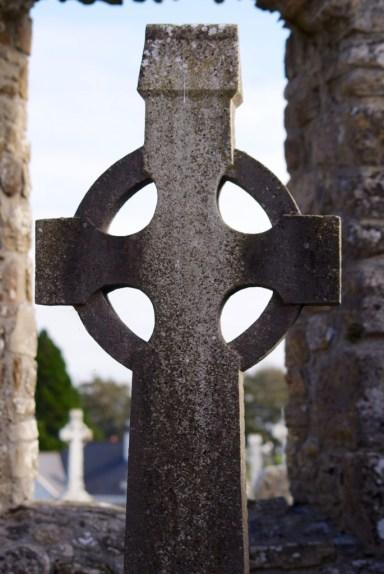 Clonmacnoise - cross