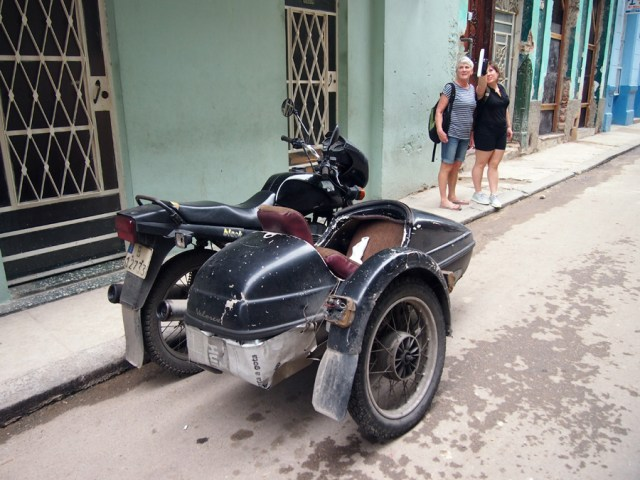Motorcycles with side-cars. My dream ever since I saw Pippy Longstocking when I was 6. I never got to ride in one, so I must return to Cuba.