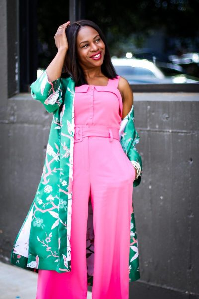 green and pink, how to incorporate the pairing into your ...