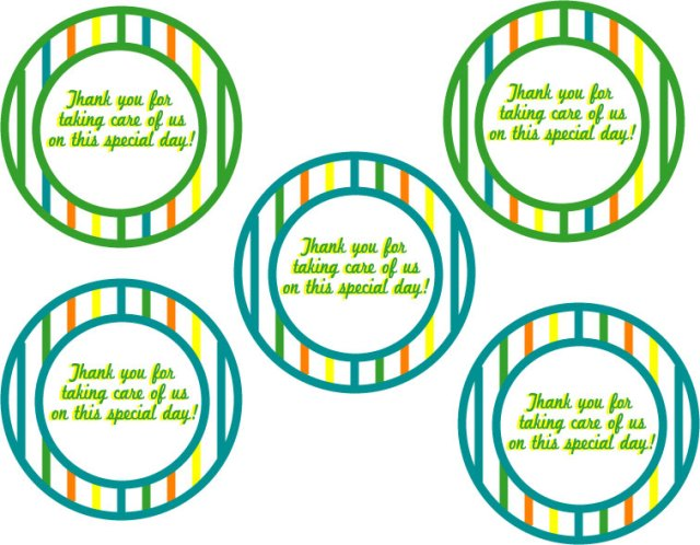 Nurse Thank You Printable - A Well Crafted Party