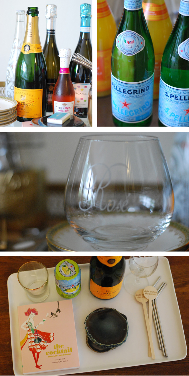 Summer Bar Cart Details