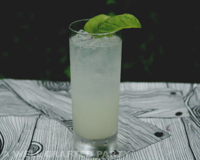 Gin and Basil Cocktail