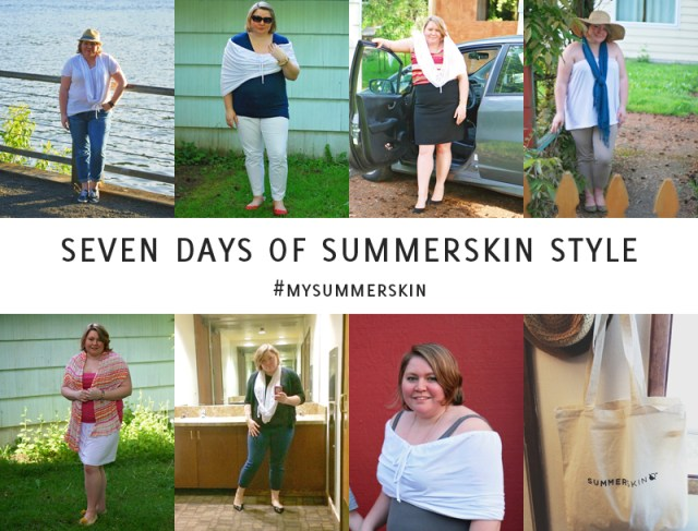 7 Days of Sun Safe Style with Summer Skin // A Well Crafted Party