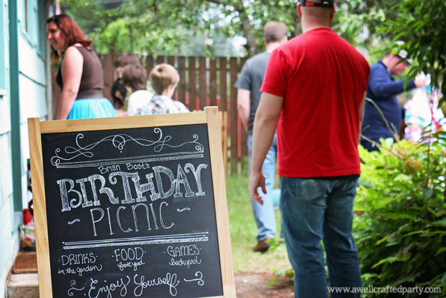 Real Party: Picnic Themed Birthday Party // A Well Crafted Party