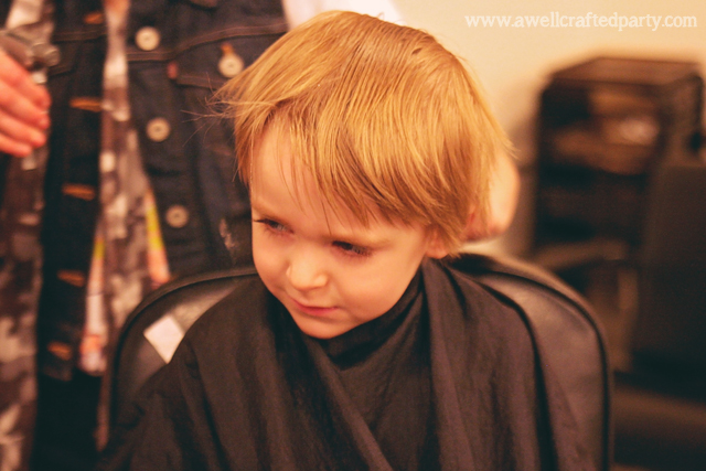 Toddler Hair Cut // A Well Crafted Party