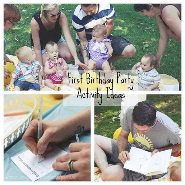 Top Posts of 2014: First Birthday Party Activity Ideas // A Well Crafted Party