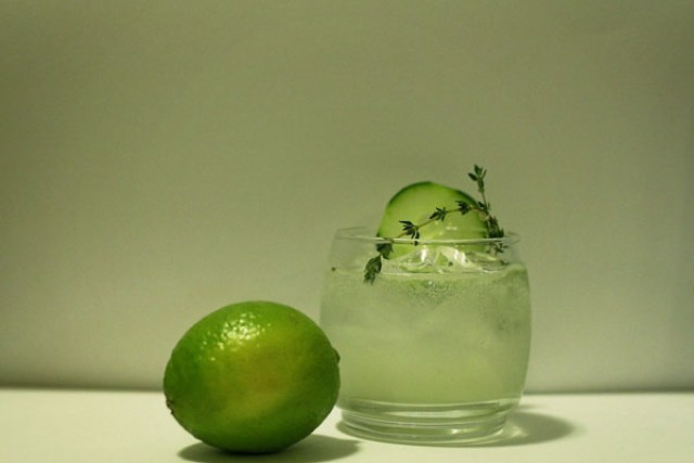 Herb & Gin Cocktail from A Well Crafted Party