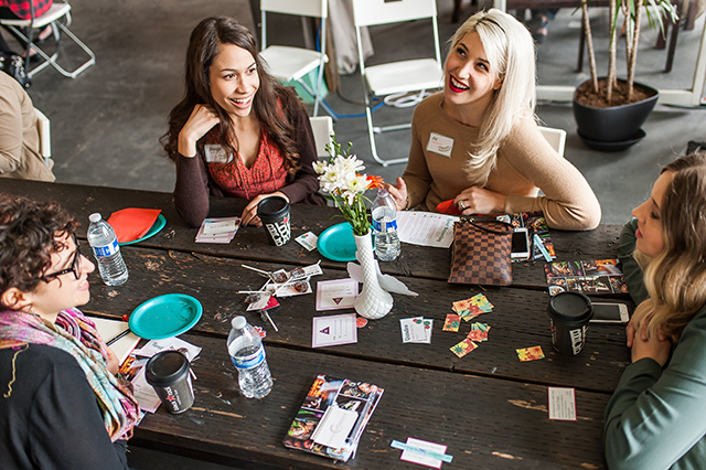 Networking isn't about you, but it will help you reach your goals. Networking Tips via A Well Crafted Party