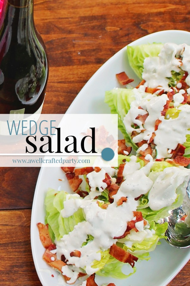 Wedge Salad Recipe