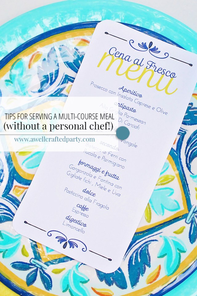 I'd love to hire a personal chef, but until then... these tips get my through my dinner hosting with ease!
