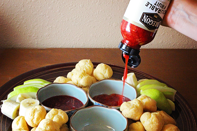 Fruit Puree takes a fondue dessert from ordinary to awesome.
