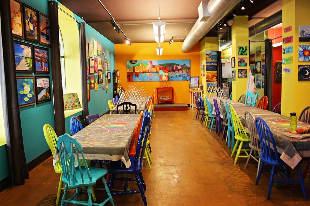 The Bottle and Bottega Space in NW Portland