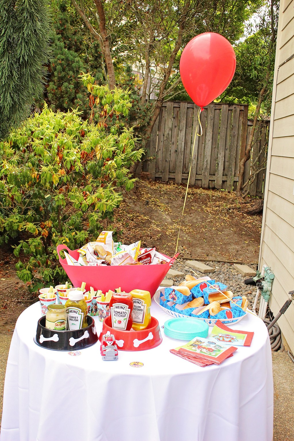 Paw Patrol Party Food from A Well Crafted Party