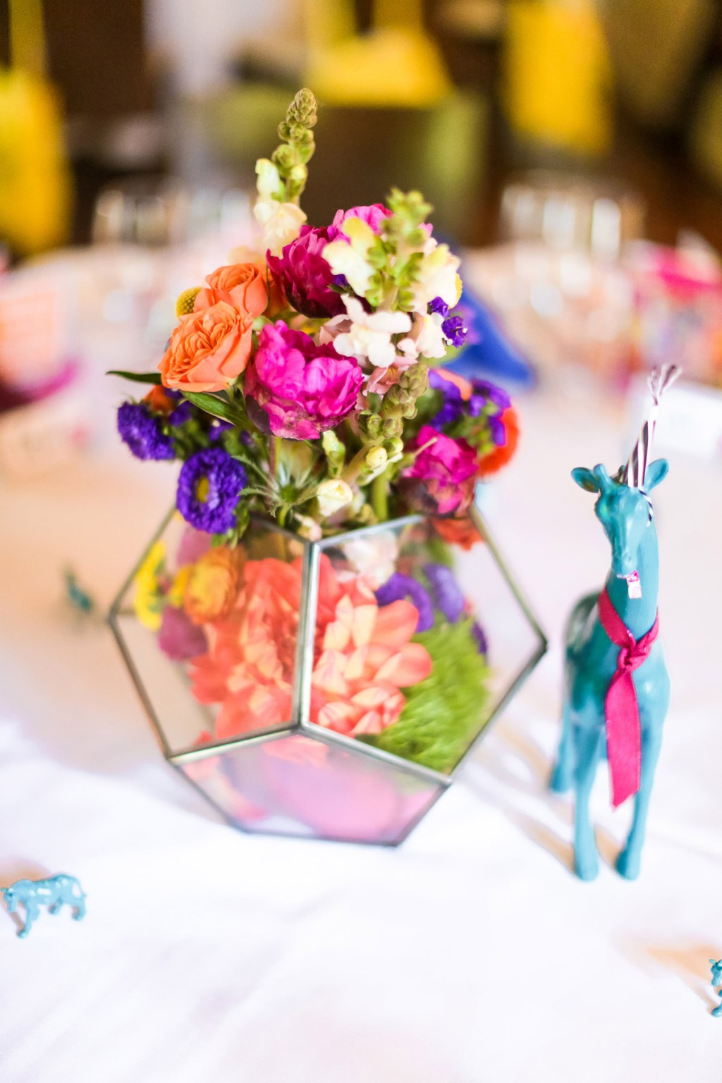 Bright and Cheerful 10th Anniversary Party Decor from A Well Crafted Party, photo by Mary Boyden