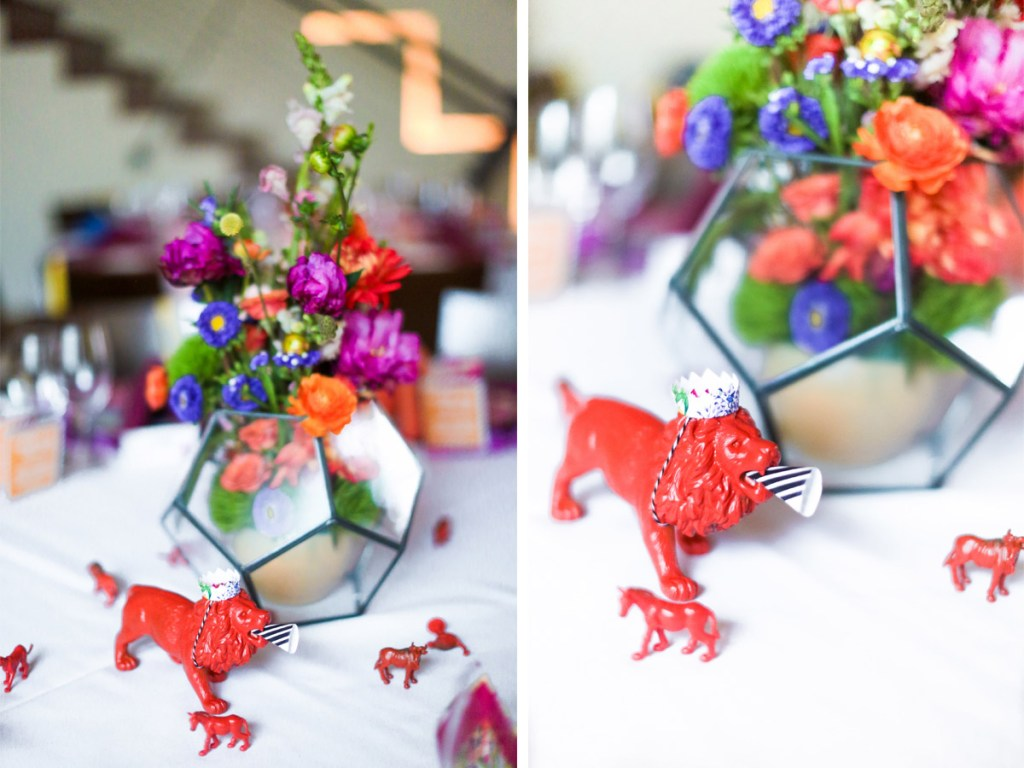 Colorful Wedding or Anniversary Party from A Well Crafted Party, photos by Mary Boyden