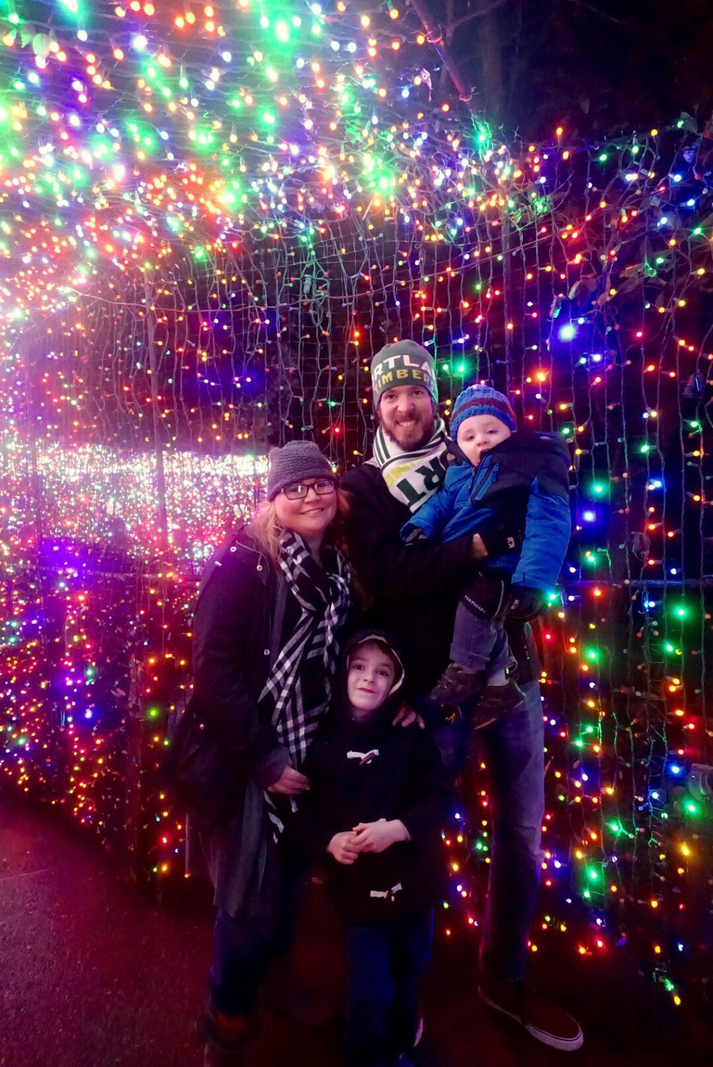 Holiday Events in PDX - Oregon Zoo's Zoo Lights at A Well Crafted Party