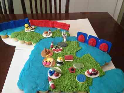 Cupcake Tree - Michigan Birthday Bake Off