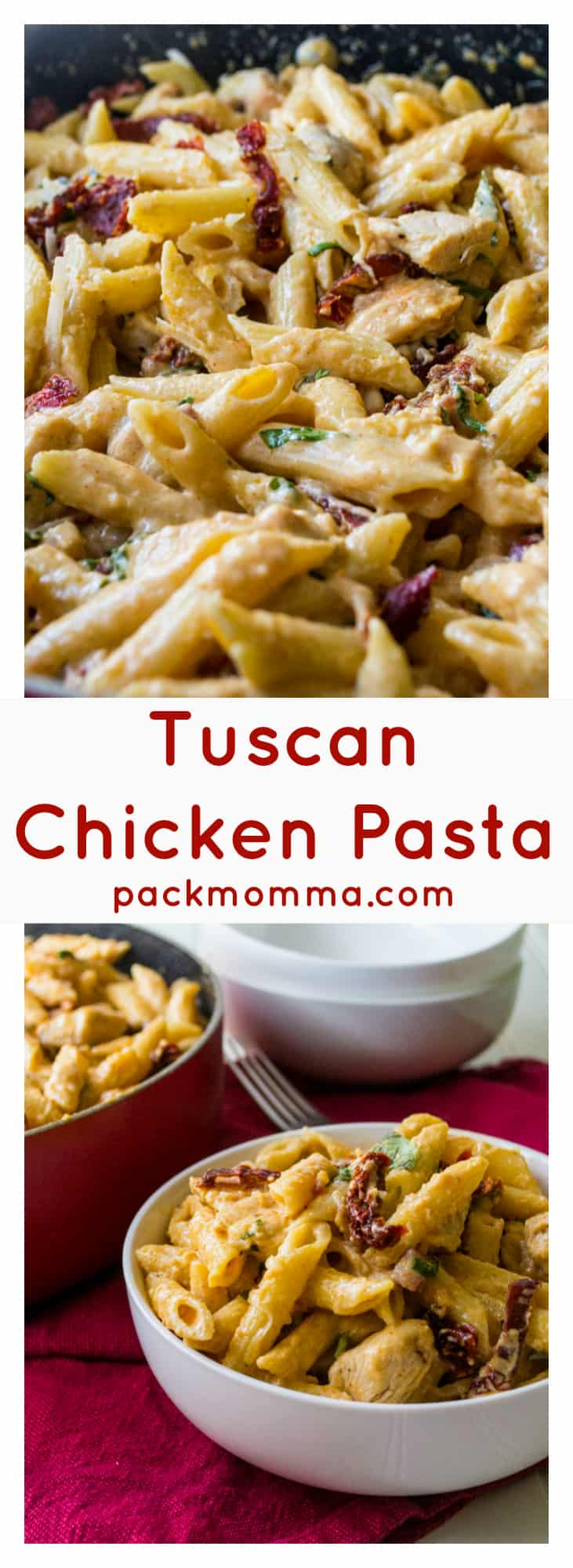 Fullsize Of Tuscan Chicken Mac And Cheese
