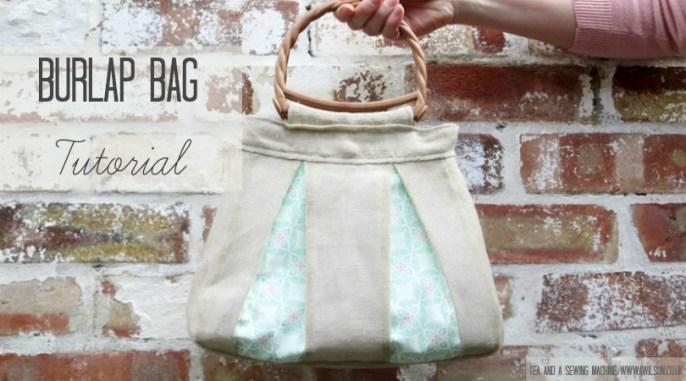 Burlap Bag Tutorial