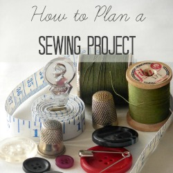 plan sewing project square