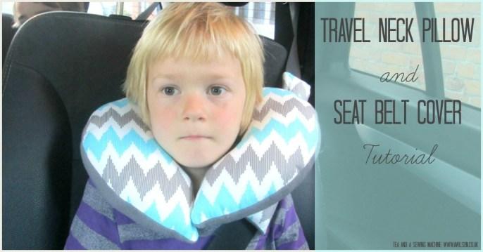 Easy Child's Travel Pillow Tutorial