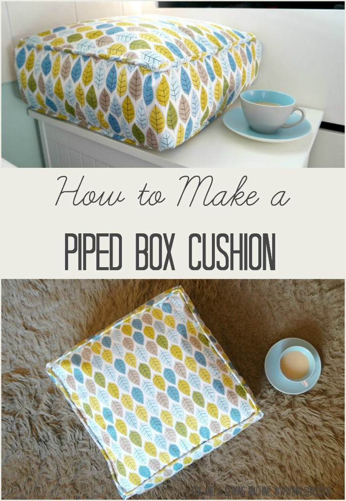 Sewing Cushions With Piping