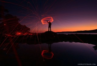 Steel wool phography tutorial - A World to Travel-30