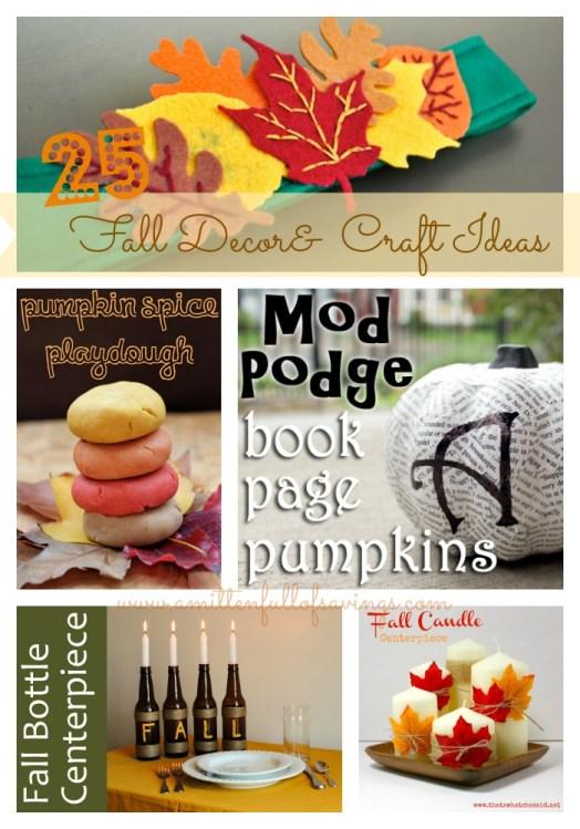 25 fall decor and craft ideas