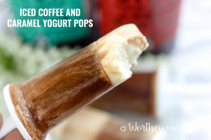 ... is perfect for coffee lovers! Iced Coffee and Caramel Yogurt Pops