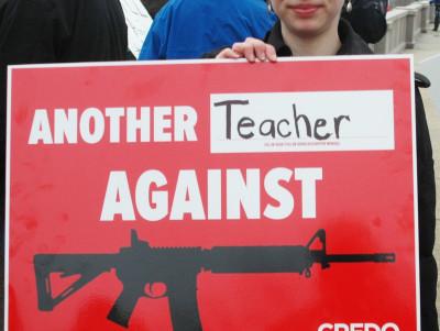 Women's march for gun control