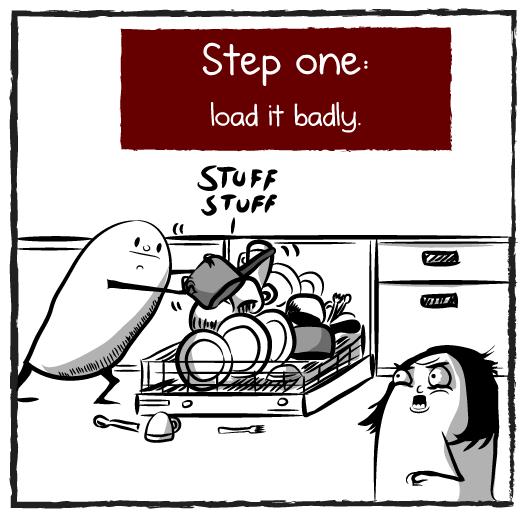 """Schritt 1: """"Möglichst schlecht."""""""