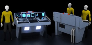 Transporter Console Concept