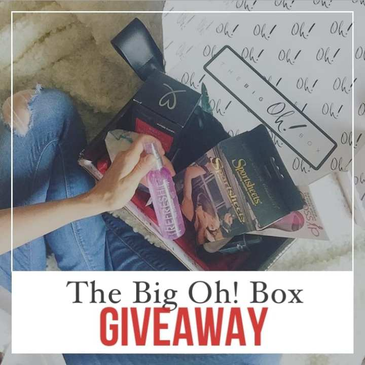 The Big Oh! Box GIVEAWAY – Have You Entered?