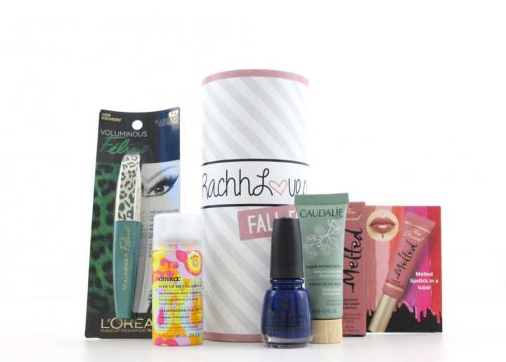 RachhLoves Fall Beauty Box Review by TopBox & GIVEAWAY