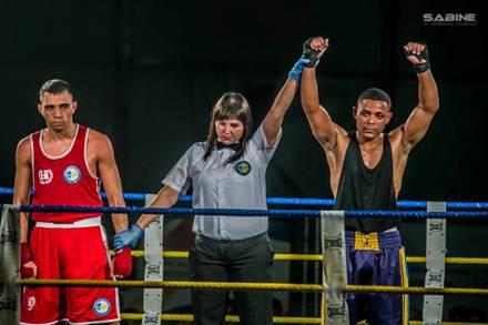 El boxeador de la Escuela Palenke