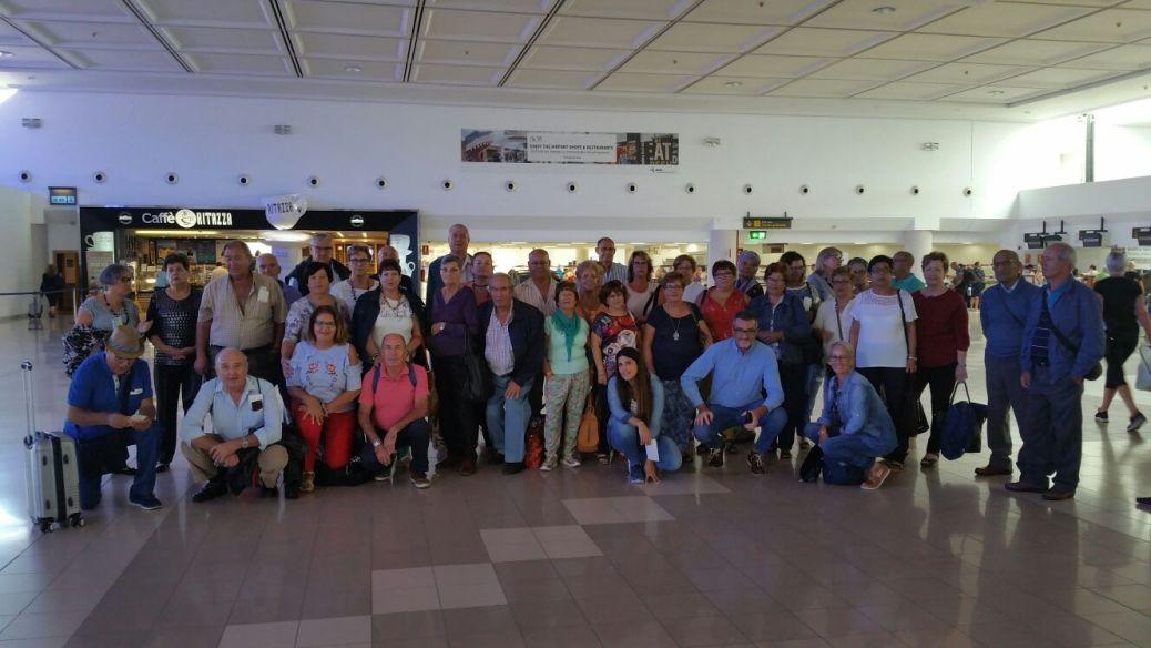 Viaje de los mayores de Haría a Exrremadura