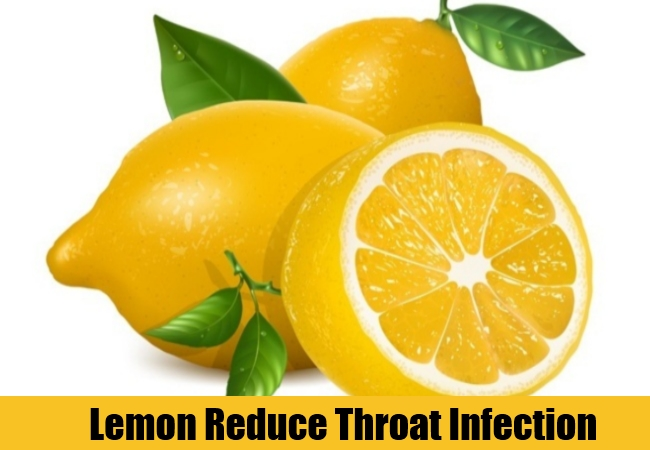 Lemon Reduce Throat Infection