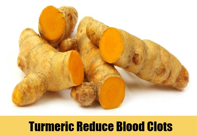 Turmeric Reduce Blood Clots