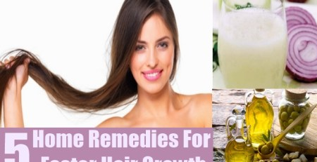 Home Remedies For Faster Hair Growth