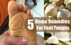 Top 5 Foot Fungus Home Remedies