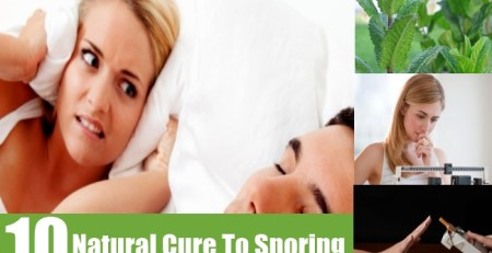 Natural Cure To Snoring