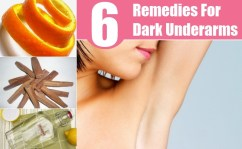 6 Simple Home Remedies For Dark Underarms