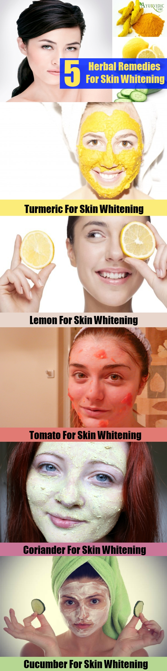 Top Herbal Remedies For Skin Whitening