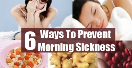 Ways To Prevent Morning Sickness