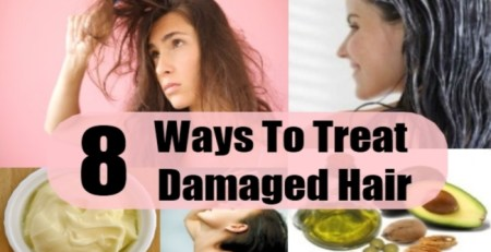 Ways To Treat Damaged Hair
