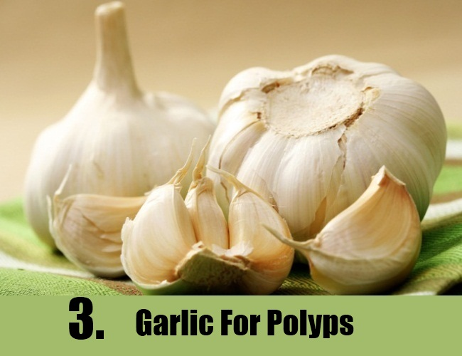 Garlic For Polyps